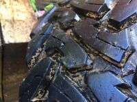 4X4 TOYO OPEN COUNTRY MUD TYRES 255 / 85 / 16 DONE LESS THAN 500 MILES SUIT LANDROVER X4