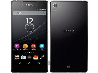 AU KDDI SONY SOV31 XPERIA Z4 ANDROID 6.0 PHONE SMARTPHONE UNLOCKED JAPAN BLACK