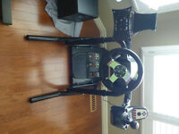 RSEAT W-Stand Racing Wheel Stand + Logitech G27