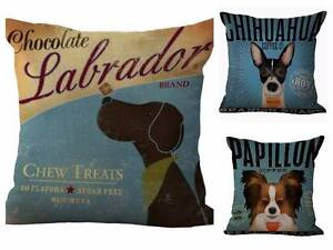 Cute Advertising Brand Dogs Sofa Pillow Cover Cases Northcote Darebin Area Preview