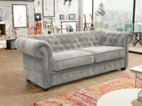 🎉🎉CLEARANCE STOCK MUST GO🎉🎉BRAND NEW STYLISH DESIGN CHESTERFIELD SOFA🎉🎉AVAILABLE IN STOCK🎉🎉