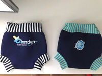 Two 'Splash About' Baby swimming trunks - medium size £5