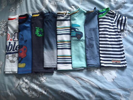 Boys 6-9months t-shirt bundle 9 pieces