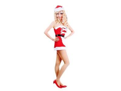 Weihnachts-kostüm für Frauen Damen sexy Santa Weihnachtsfrau Weihnachtsmann 102
