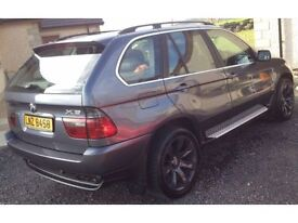 BMW X5 4.4 V8 with approved LPG conversion (64p per litre) MOT November 2017