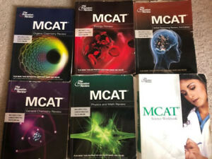 MCAT Princeton Review (6 books)