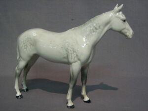 "Vintage Dappled Grey Beswick China Standing Horse Figurine 6"" Kitchener / Waterloo Kitchener Area image 1"