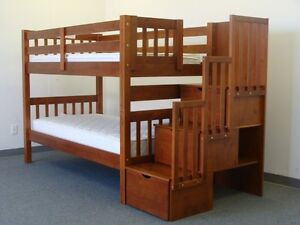 SOLID WOOD BUNK BEDS STRAT FROM $349 London Ontario image 10
