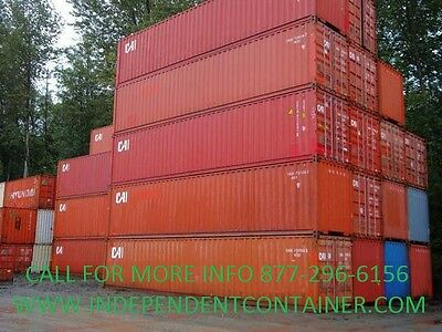 40 High Cube Cargo Container Shipping Container Storage Unit Kansas City Mo