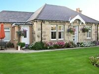 ELGIN, MORAYSHIRE, SCOTLAND - 2 BED BUNGALOW + 1 BED BUNGALOW IN BEAUTIFUL LANDSCAPED GARDENS