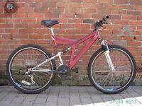 yankee harlem savage mountain bike 18 gears good condition