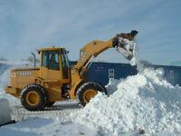 Snow removal, Snow hauling, salting and sanding