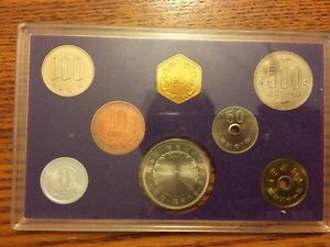 Japan Mint Coin Collection 1986