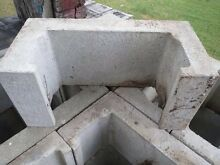 Concrete retaining wall blocks and tops Petrie Pine Rivers Area Preview