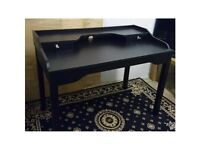 IKEA Wooden Desk / Dressing Table - Black