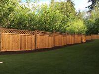 GREAT QUALITY CEDAR Fence installation ?????