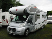 EXTRA SPACIOUS LUXURY MOTORHOME
