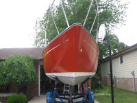 23 ft Sailboat with trailer