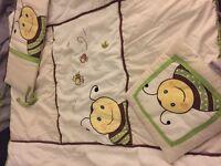 Beding crib set