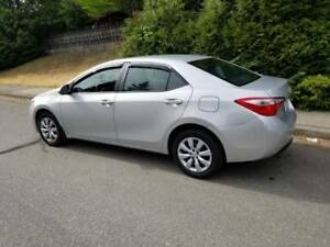 2014 Toyota corolla le Driving school car only 44500 kms