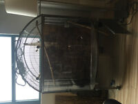 Large Superpet EZCare Bowfront Bird Cage