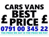 079100 34522 SELL YOUR CAR VAN BIKE FOR CASH BUY MY SCRAP FAST J
