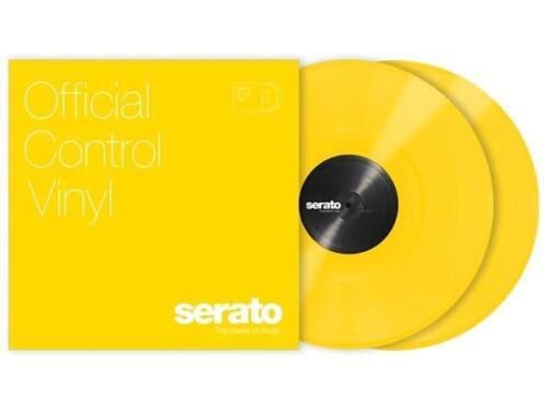 "YELLOW 12"" Serato Control Vinyl (Pair)"