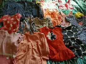 Baby girl clothes 9-12 months