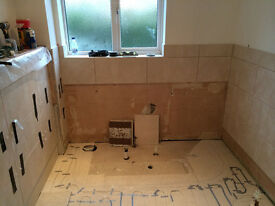 Experienced Bathroom Fitters / Installers WANTED