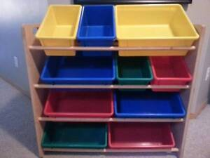 Kids Storage Organzier with 12 bins