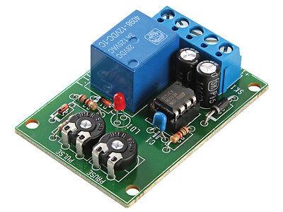 Kit Módulo Temporizador Intermitente Circuitos Secuenciales Eléctrico MK111