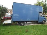 Removals service. Man and van 4 You, Luton van with tail lift, The best price!!!