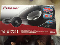 Brand new still in the box pioneer speakers