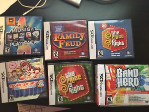 Nintendo DS and 3DS games and accessories