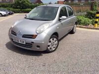 Nissan micra only 84k 2007, very clean car, electric front windows and mirrors, long mot