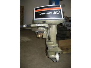 Used 1980 Johnson 20 hp