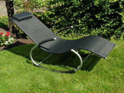 Schaukelliege Liege Sonnenliege Terassenliege Liegestuhl Schaukelstuhl Wippliege