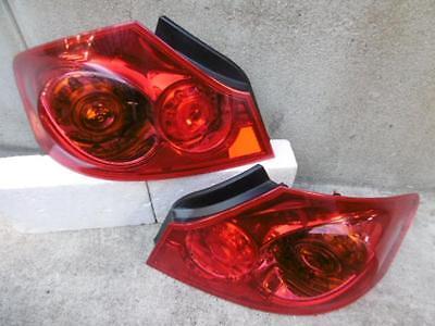 JDM 07 13 Nissan Skyline Sedan V36 Infiniti G37 Taillights Tail Lights Lamps OEM