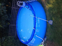 """FREE POOL  12' x 48"""".(might be 15 x 48).See below for details"""