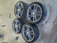 mag rims and tires
