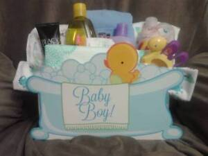 As a side business I make & sell baby shower gifts like this one