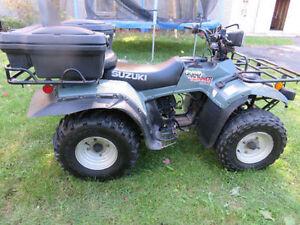 Suzuki Quad Runner 250. 1500$