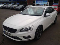Volvo S60 2.0 D4 [181] R DESIGN Lux (HALF LEATHER+SAT NAV)
