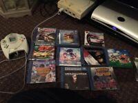 Sega Dreamcast + loads of games