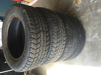 195/65/15 tires for sale - used