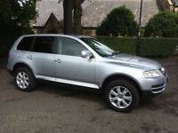 2006 VW Touareg 2.5 TDi SE SPORT Automatic 4x4 Full Leather Super Condition Diesel 4X4