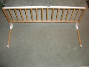 Gerry Wooden Bed Rail