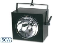 50W STROBE LIGHT IN SUPERB CONDITION USED ONLY ONCE - £12.99