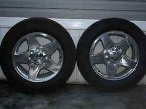 GMC 20inch Rims and Tires