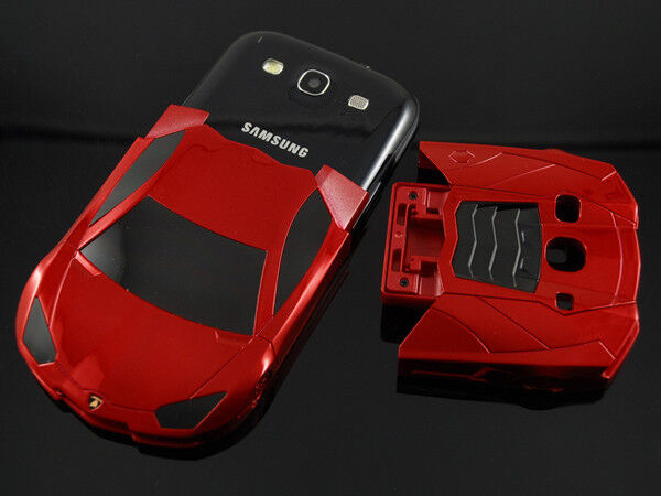 samsung galaxy s4 s phone sports car case cover in red ebay. Black Bedroom Furniture Sets. Home Design Ideas